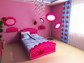 die richtige gardine f r das kinderzimmer finden. Black Bedroom Furniture Sets. Home Design Ideas