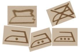 unterbrochener kreis symbol
